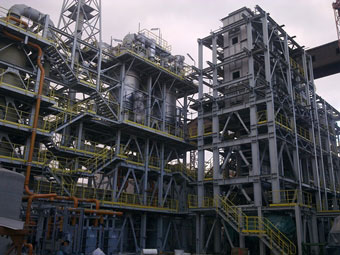 Erection of mechanical equipment
