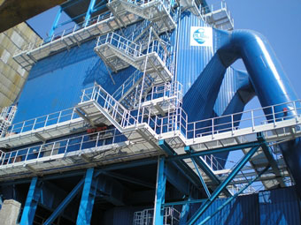 ESP and baghouse filters